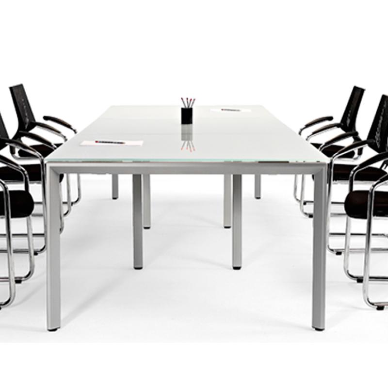 Mesa de reuni n estructura de metal modelo liviano studio3 - Estructura de metal ...