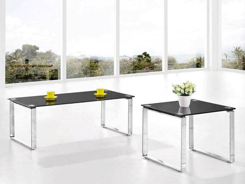 Mesa de centro base cromada studio3 - Bases para mesas de centro ...